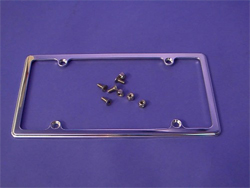 license plate frame, tag frame, smoothie, empire 320p