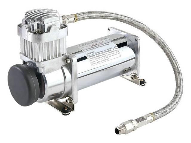 viair 380c, chrome air compressor, bag suspension compressor, air system, on board air, 12 volt air compressor, best air compressor