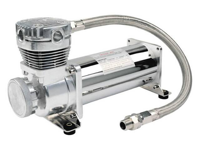 viair 480c, chrome air compressor, air bag suspension compressor, air system, on board air, 12 volt air compressor, best air compressor