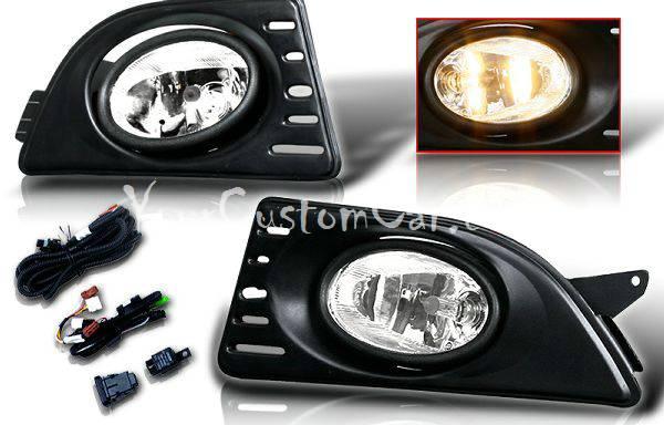 05, 06, 07, acura rsx fog lights, fogs, performance lights, oem style, jdm