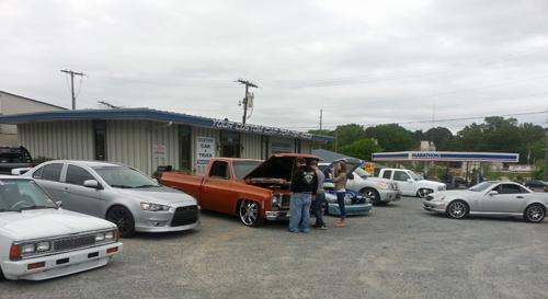 your custom car, retail store front, custom car, custom truck, air bag suspension, concord, nc