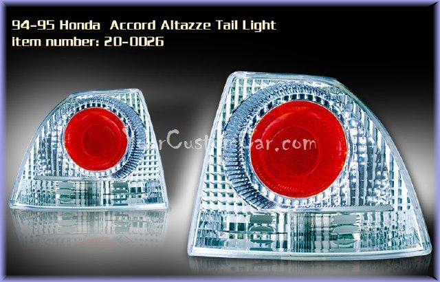 accord tail lights, custom tail lights, custom taillight, honda accord tail light, custom accord, honda taillights