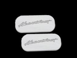 cab name plate, cab nameplate, door pillar badge, heartbeat badge, empire 601p