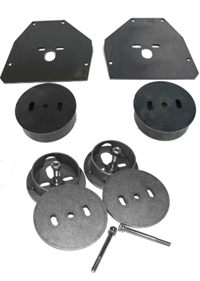 c10 airbag brackets, c10 airbag cups, c10 air suspension, 63-72 c10, lowrider c10