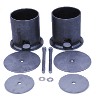 65-70 Impala, 65-70 chevrolet wagon, rear air bag cups, air bag brackets, impala brackets, chevrolet fullsize, air bag cups, air suspension cups, front bag cups, silverado, tahoe