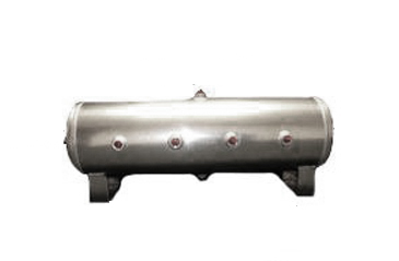 air tank, 7 gallon, aluminum, 1/2 inch ports, 8 port