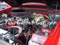 Custom 72 Ford Bronco Engine