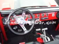 Custom 72 Ford Bronco Interior