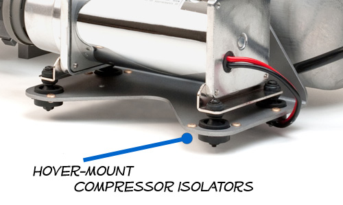 AccuAir exo mount ,hover mount for compressors
