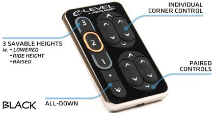 Accuair touchpad