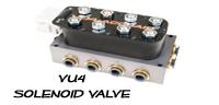 accuair valve, VU4, solenoid valve, valve manifold, air bag suspension valve, yourcustomcar.com