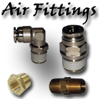 air fittings, air bag fittings, air suspension fittings, push to connect