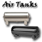 air tank, air suspension tank, aluminum air tank, powder coated air tank, gallon, gal