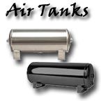 air tank, air suspension tank, aluminum air tank, powder coated air tank, gallon, gal