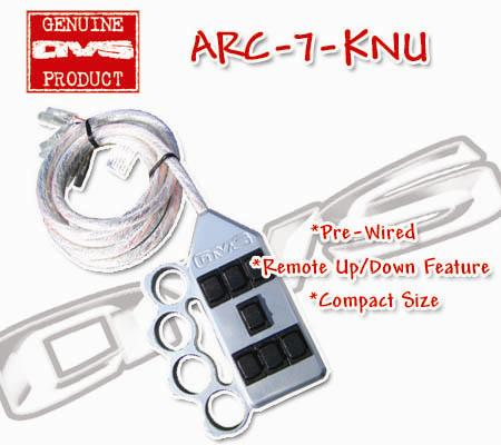 switch box, avs, arc-7, air suspension control, air management, pre wired, switches, knuckle
