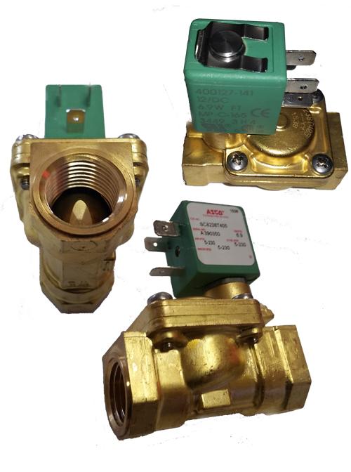asco air valve, 1/2 inch air valve, air valve for bags, airbag valve