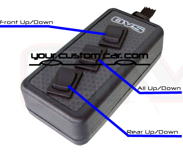 switch box avs 3 button rh yourcustomcar com Air Ride Rocker Switch Air Ride Pressure Switch