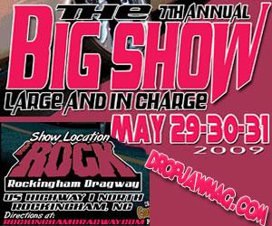 big show 2009 flier