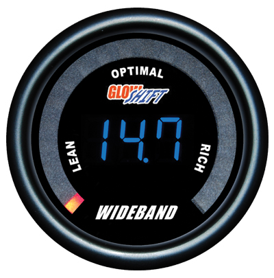 wide band air fuel ratio gauge, wideband air fuel ratio gauge, black afr gauge, led afr gauge, wide band afr gauge