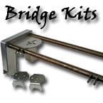 bridge kit, four link, air ride suspension kit, air suspension, chevy, truck