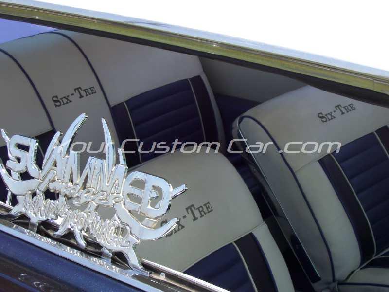 the big show 2009 09 custom 63 impala interior six tre