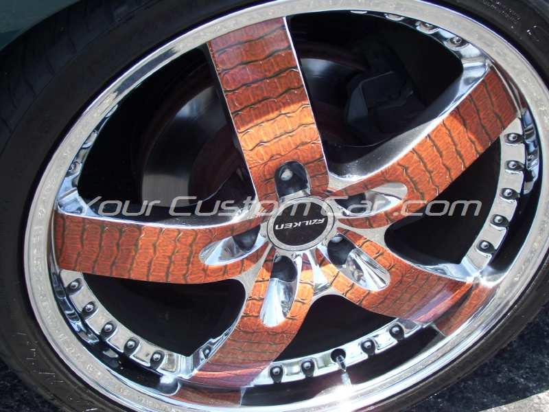the big show 2009 09 alligator wheels