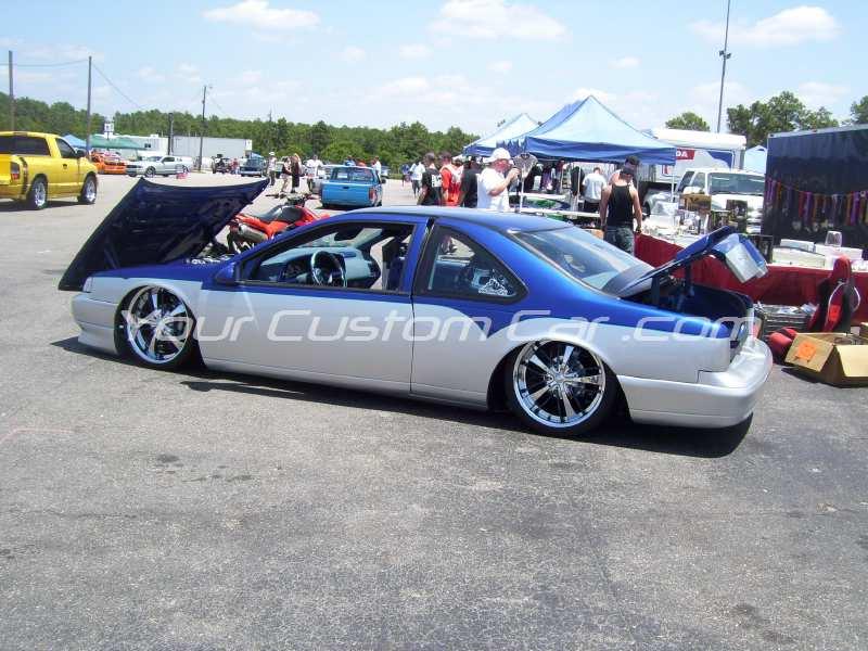 the big show 2009 09 custom ford thunderbird