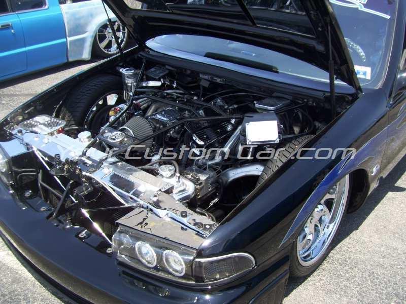 the big show 2009 09 custom Impala SS engine pebble pushers your custom car chrome lt1 engine impala air bags