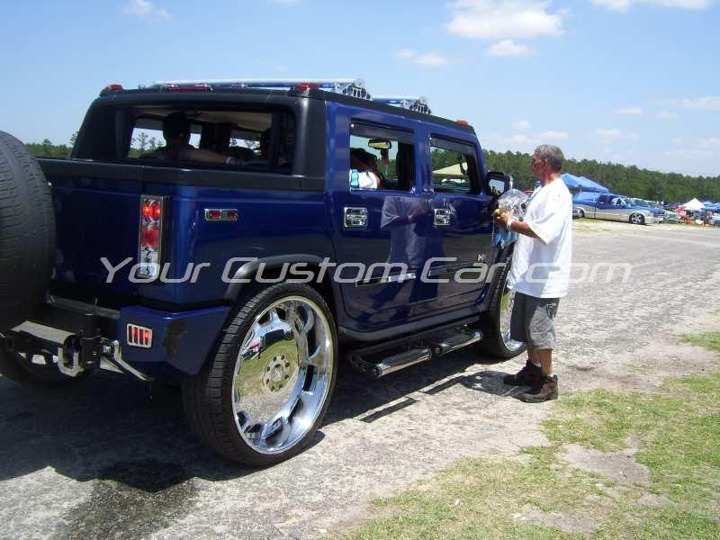 the big show 2009 09 custom h2 donk 30s 30 inch wheels