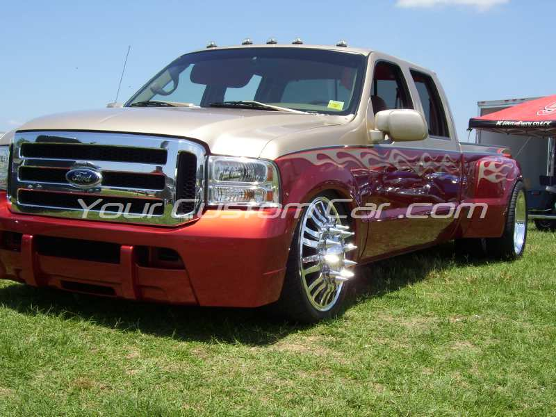 the big show 2009 09 slammed for dually flames