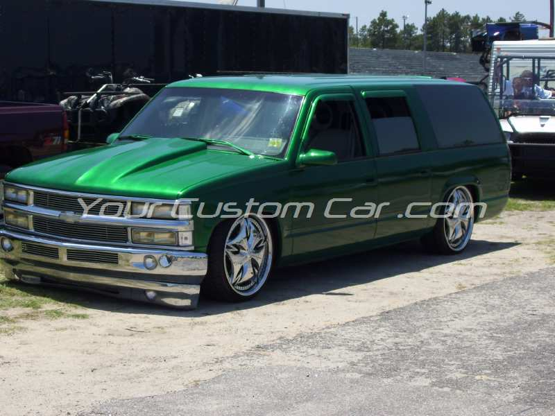 the big show 2009 09 green suburban custom