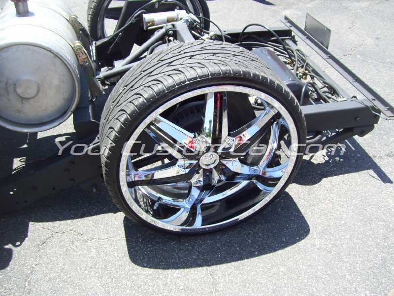 the big show 2009 09 26s 26 inch rims custom s-10 frame