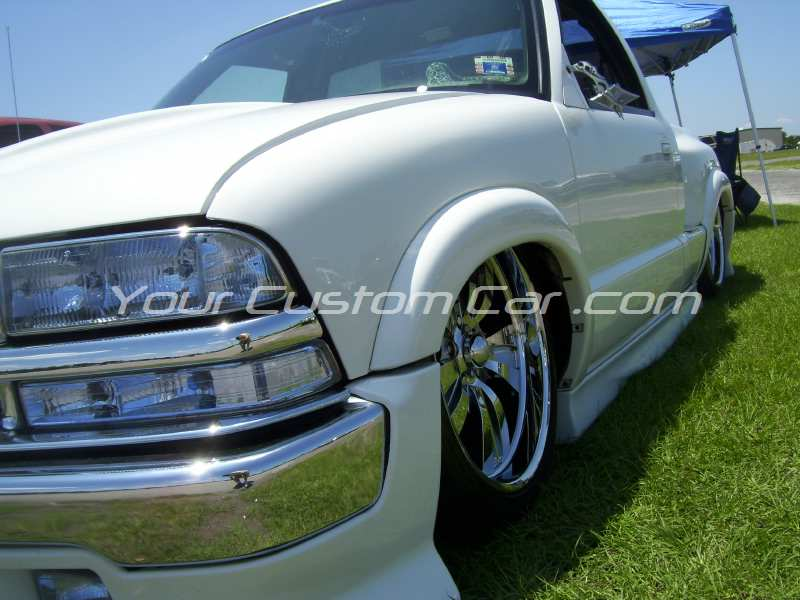 the big show 2009 09 slammed s10 white billet