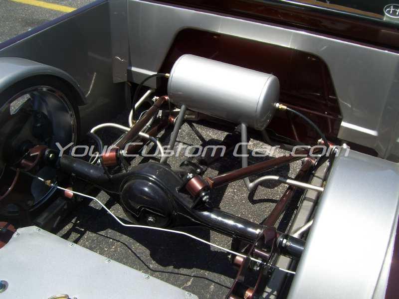 big show 09 minitruck rear suspension air bags