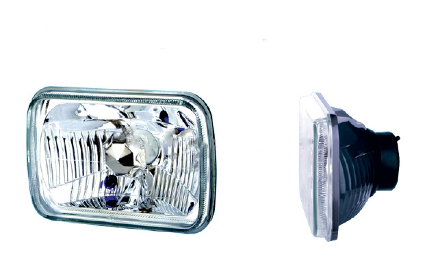 conversion headlights, 7 inch headlights, hot rod lights, sealed beam replacement, h4 bulbs