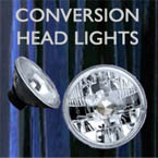 conversion headlights, sealed beam conversion, hot rod head lights, s10 lights