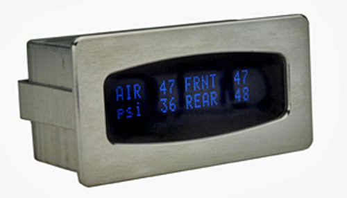 air pressure gauge, dakota digital, 19-4-5-hp, digital air gauge, tank pressure, air bag pressure