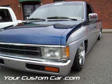 drop em wear show, car truck show, custom minitruck, custom car, custom nissan