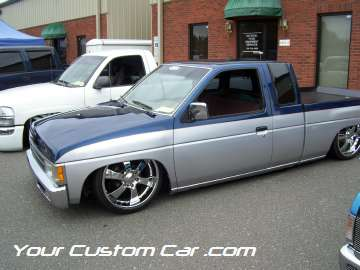 drop em wear show, car truck show, custom minitruck, custom car, custom nissan hard body