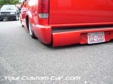 drop em wear show, car truck show, custom minitruck, custom car, custom bumper blazer