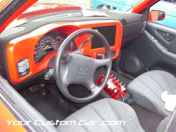 drop em wear show, car truck show, custom minitruck, custom car, custom blazer interior