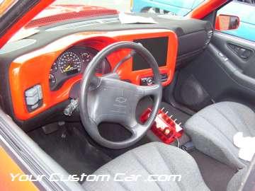 drop em wear show, car truck show, custom minitruck, custom car, custom blazer interior