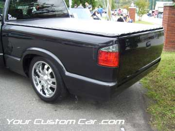 drop em wear show, car truck show, custom minitruck, custom car, s10 roll pan