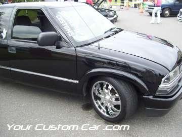 drop em wear show, car truck show, custom minitruck, custom car, custom black s10