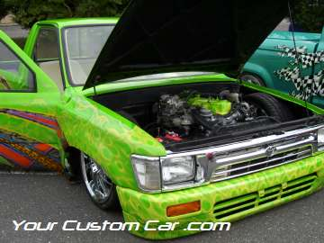 drop em wear show, car truck show, custom minitruck, custom car, custom toyota mini