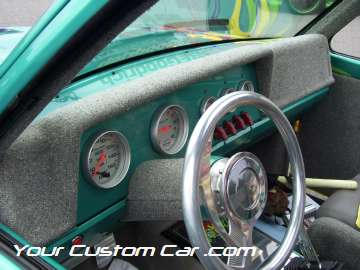 drop em wear show, car truck show, custom minitruck, custom car, custom ranger interior