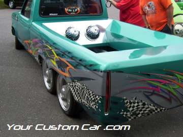 drop em wear show, car truck show, custom minitruck, custom car, custom ranger body work