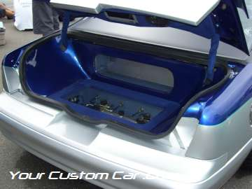 drop em wear show, car truck show, custom minitruck, custom car, custom thunderbird