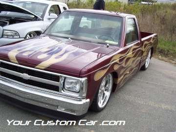 drop em wear show, car truck show, custom minitruck, custom car, custom paint s10