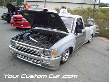 drop em wear show, car truck show, custom minitruck, custom car